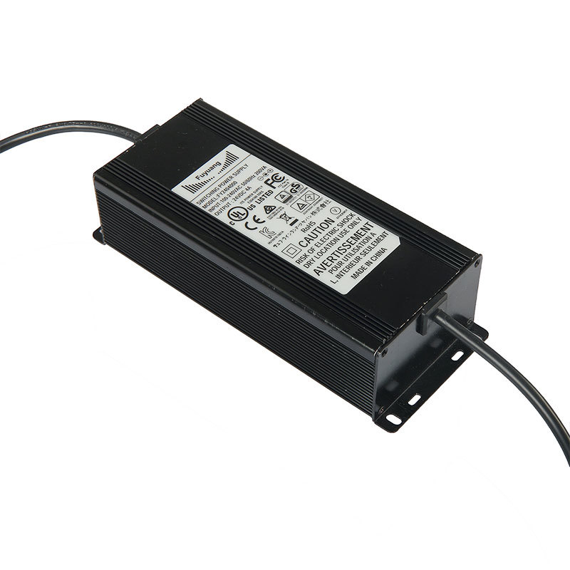 Custom 12V 24V 200W Marine IP67 Waterproof Power Adapter