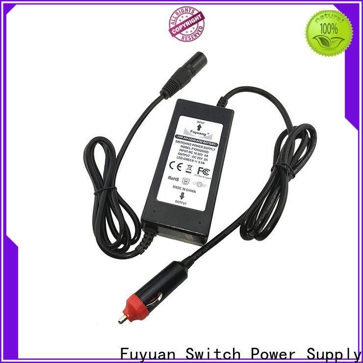 Fuyuang practical dc dc battery charger manufacturers for Electric Vehicles