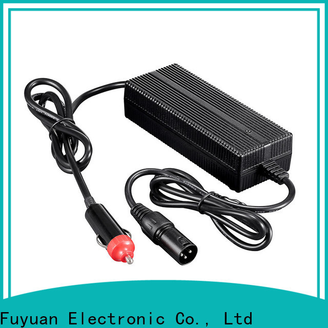 Fuyuang nice dc dc battery charger certifications for Electric Vehicles