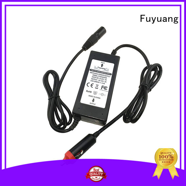 Fuyuang highest dc dc battery charger resources for Medical Equipment
