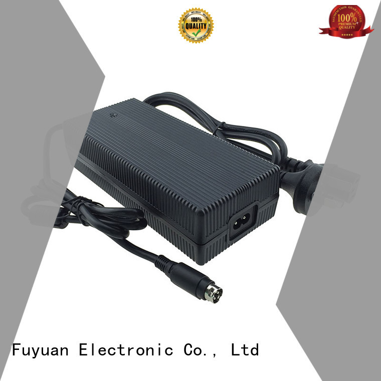 Fuyuang certification lion battery charger factory for Robots