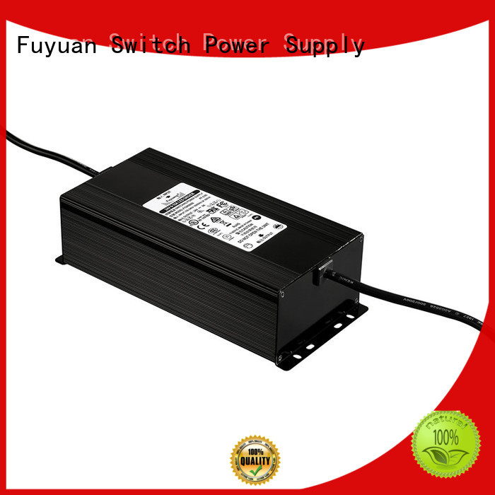 Fuyuang newly laptop charger adapter in-green for Electric Vehicles