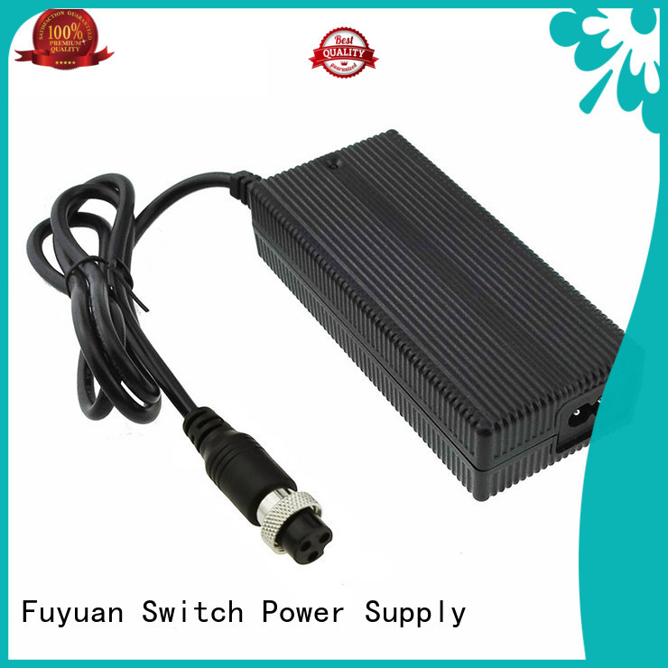 Fuyuang 146v lithium battery charger producer for Robots
