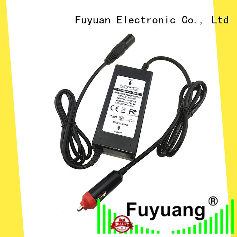 Fuyuang 10v48v car charger resources for Medical Equipment